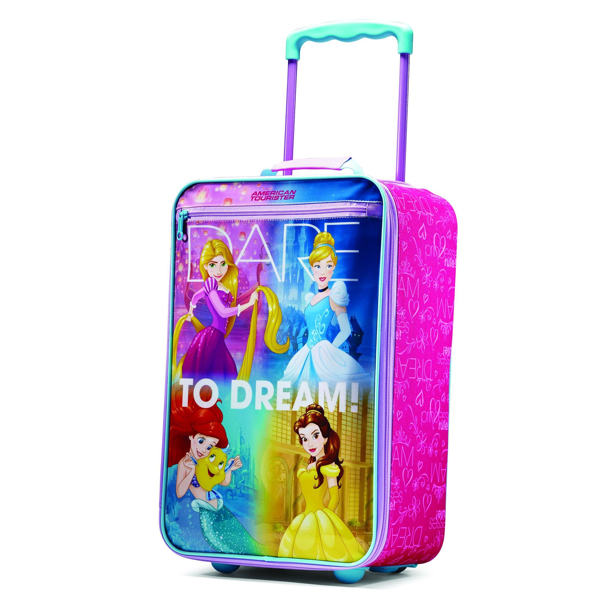 American Tourister Disney Princess 18'' Upright Softside