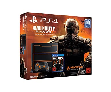 Playstation 4 Konsole 1tb Limited Edition Call Of Duty Black