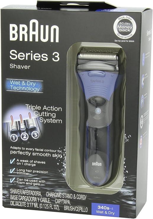 Braun 3series 340S-4 Wet & Dry Shaver: Amazon.es: Belleza