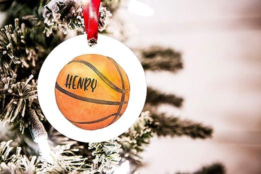 Burkeroan Adorno de Navidad de Baloncesto Personalizado ...