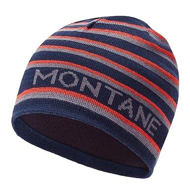 2381b991ec3 Montane Signature Beanie ONE Size Stripe Antarctic  Amazon.co.uk ...