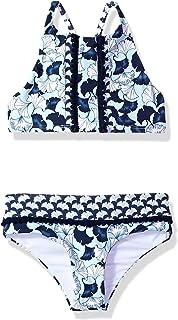 8f464e42c Amazon.com  OndadeMar Women s Lotto Underwire Tassel Bandeau Bikini ...