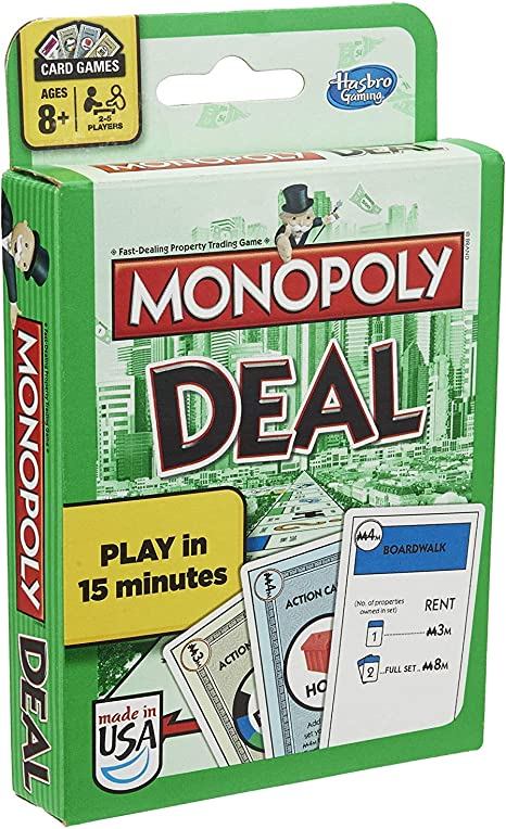 Monopoly Card Game Trato [Importado de Inglaterra]: Monopoly Deal Card Game: Amazon.es: Juguetes y juegos