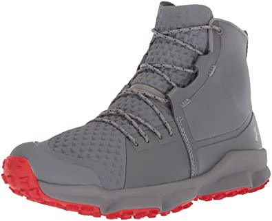 Under Armour Outerwear Womens Speedfit 2.0 Hiking Boot Zinc Gray (103)/Sultry 6