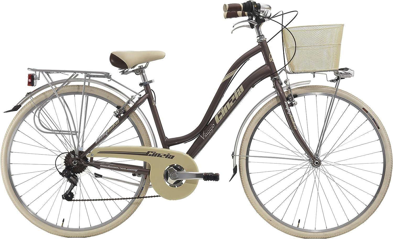 28 Pulgadas Mujer City Bicicleta 6 velocidades Cinzia Viaggio ...