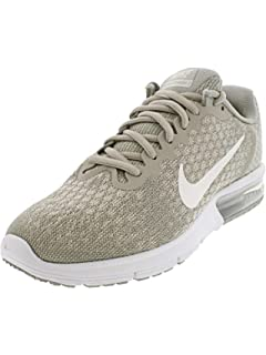 official photos 2ceb7 5e240 Nike Womens Air Max Sequent Running Shoes Pale Grey/Sail-light Bone Size 8.5