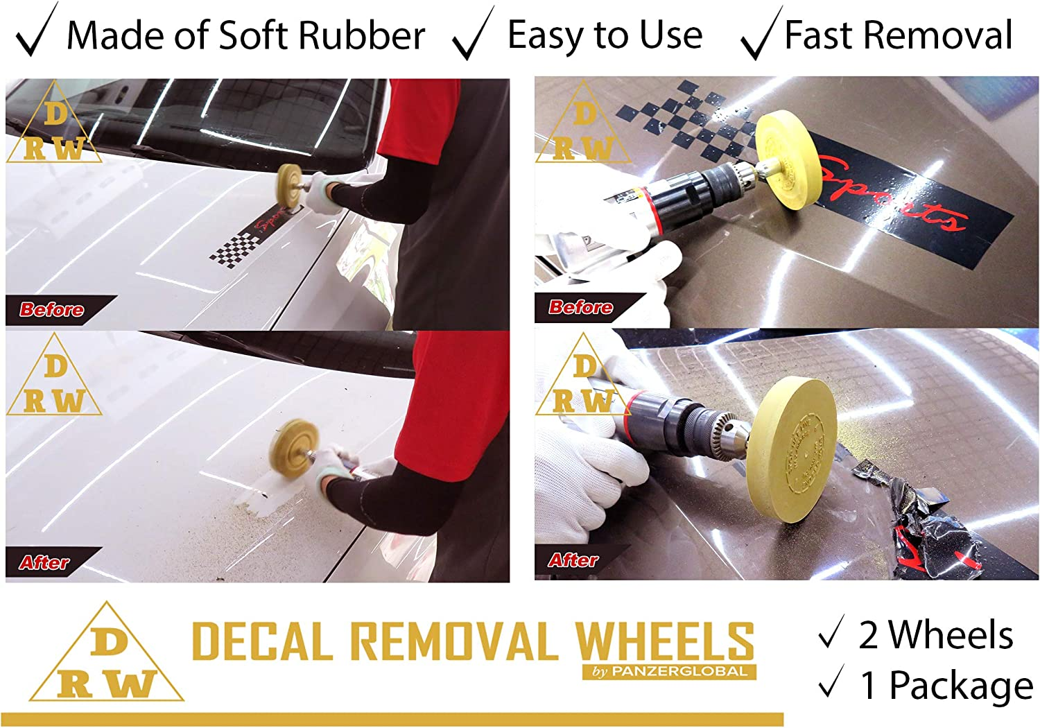 Aircraft Tool Supply 3M Graphics Removal Wheel