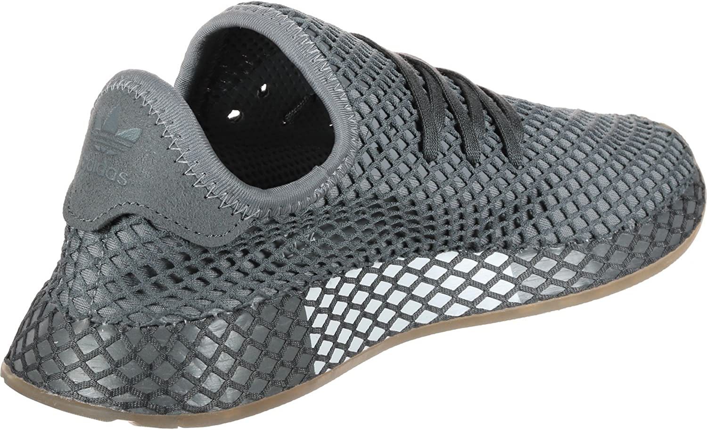 adidas Boy/'s Deerupt Runner Shoes Junior DA9609 Grey Choose Sizes
