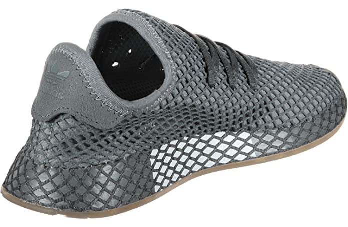 buy online ae046 7cd57 Amazon.com  adidas Originals Deerupt Runner J Grey Three Textile Youth  Trainers  Shoes