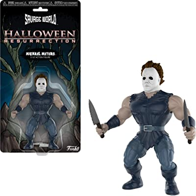 Funko Savage World: Halloween - Michael Myers Collectible Figure, Multicolor: Toys & Games