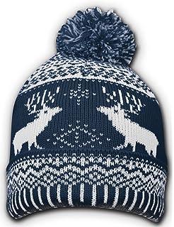 Universal Textiles Childrens//Kids Christmas Design Knitted Winter Hat 3 Designs
