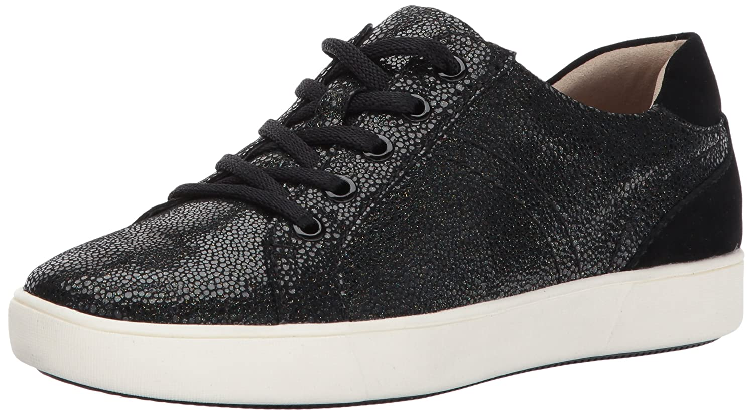 Naturalizer Women's Morrison Fashion Sneaker B071ZDJFML 8.5 2W US|Black/Black