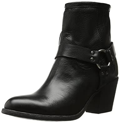 Amazon.com | FRYE Wo's Tabitha Harness Short Boot | Ankle & Bootie