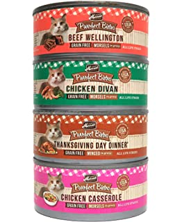 Amazoncom Merrick Purrfect Bistro Pate Canned Cat Food Variety