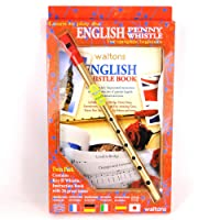 English Tin Whistle Twin D Pack