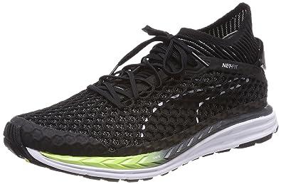 72bfdd40e Puma Men's Speed Ignite Netfit 2 Black Running Shoes-9 UK/India (43 ...
