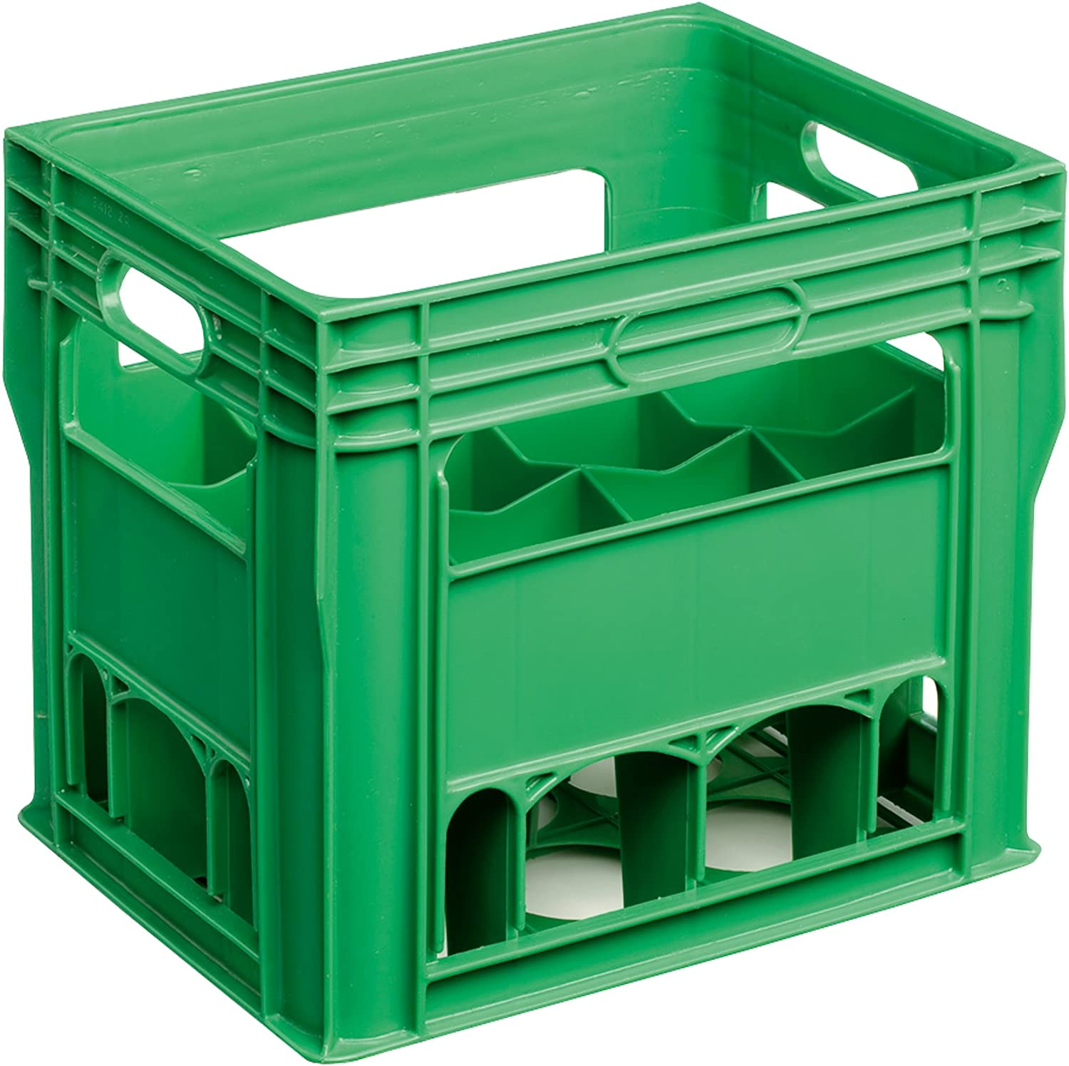 Caja de botellas de 12 compartimentos, para botellas de 750 ml: Amazon.es: Hogar