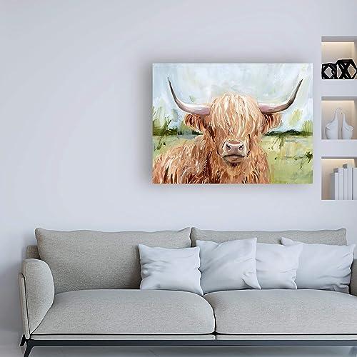 Best canvas wall art: Trademark Fine Art Highland Grazer II