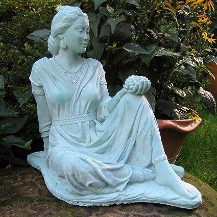 Quan Yin Garden Statue 17u0026quot;H (Copper ...