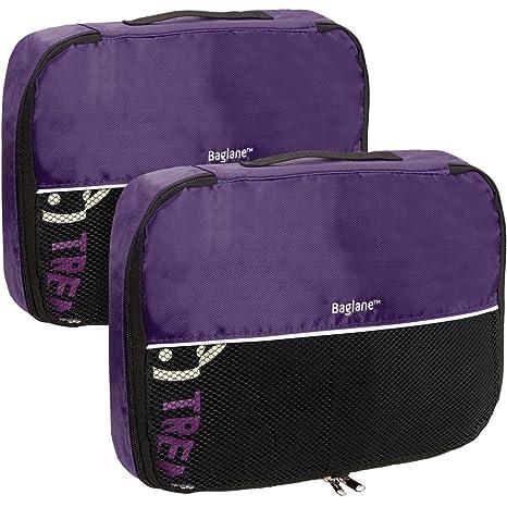 Baglane - Organizador para maletas Adulto unisex Morado morado mediano