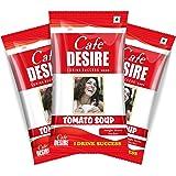 Cafe Desire Instant Tomato Soup Premix, 20 Sachets 300G