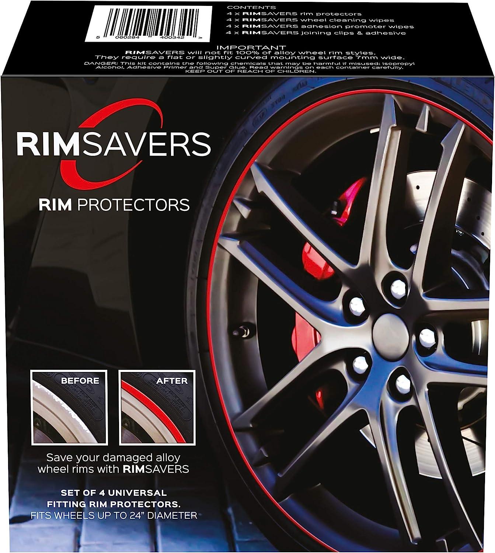 RED RimSavers RimBladesUSA w 1 Year Warranty