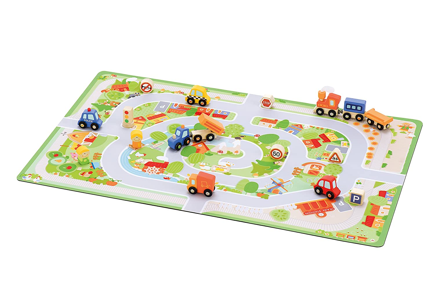 Trudi 82899 - Kinderspiel, Kinderspiel, - Sevi Play Country!, 90 x 57 cm f28be1