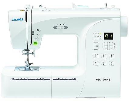 JUKI máquina de Coser electrónica, Metal, Blanco, 40 x 18,8 x