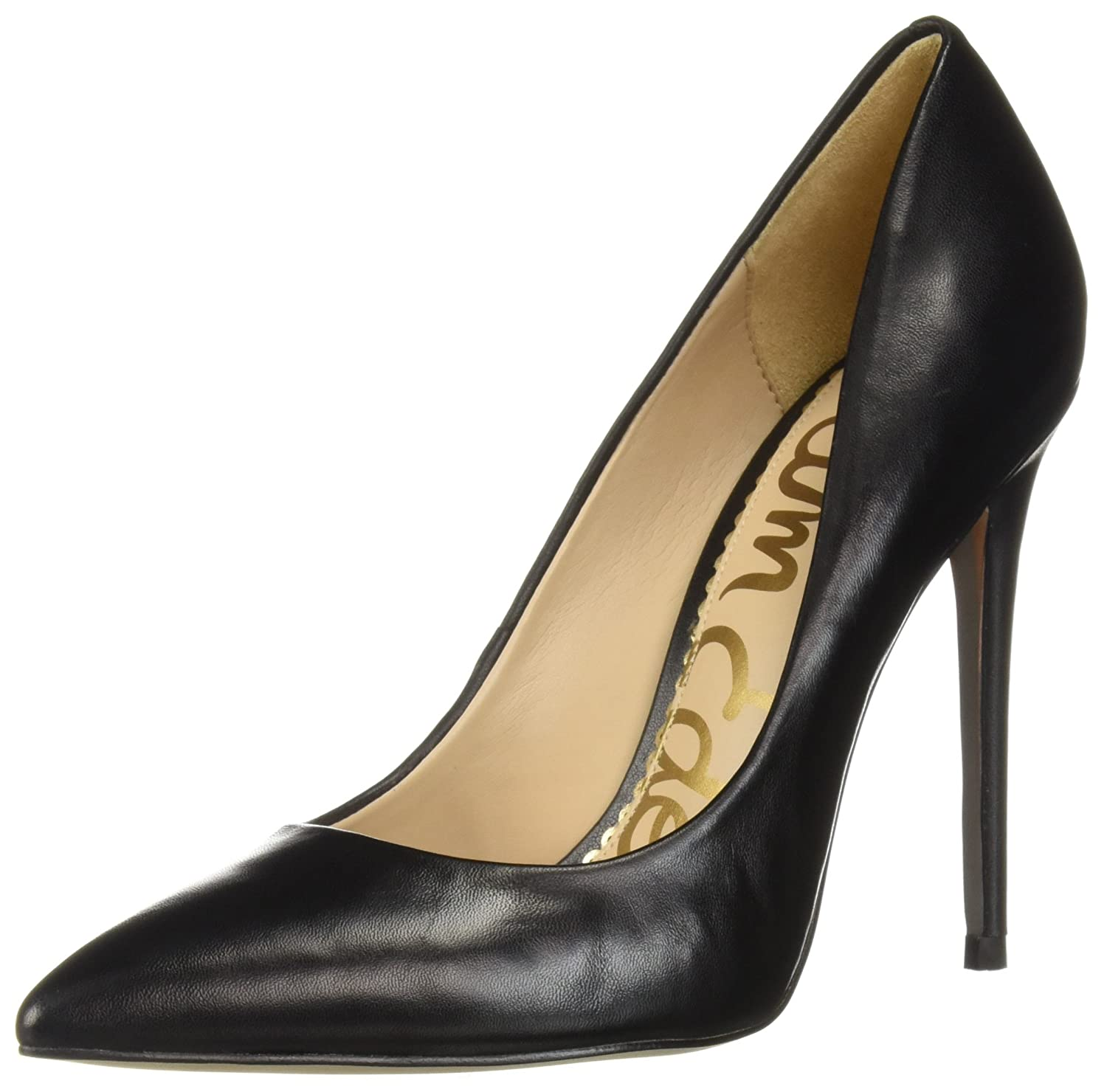 Black Leather Sam Edelman Women's Danna Pump