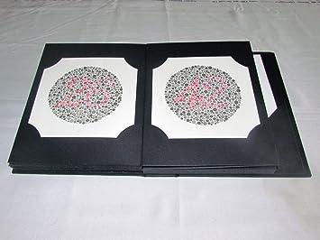 Amazon.com : Ishihara Color Deficiency Test Book 38 Plates : Beauty