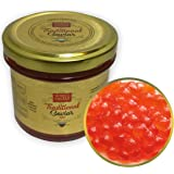 Red Caviar - Salmon Trout Caviar Roe - Best Caviar for Sushi - RUSSIAN Style Traditional Caviar, 3.88 Oz - 110 gr - Glass Jar