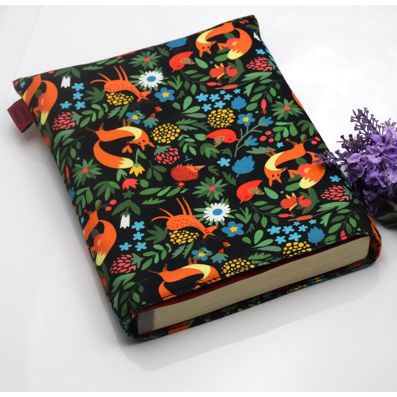Medium Book Sleeve Fox Book Cover Medium Book Sleeves Teen Gift