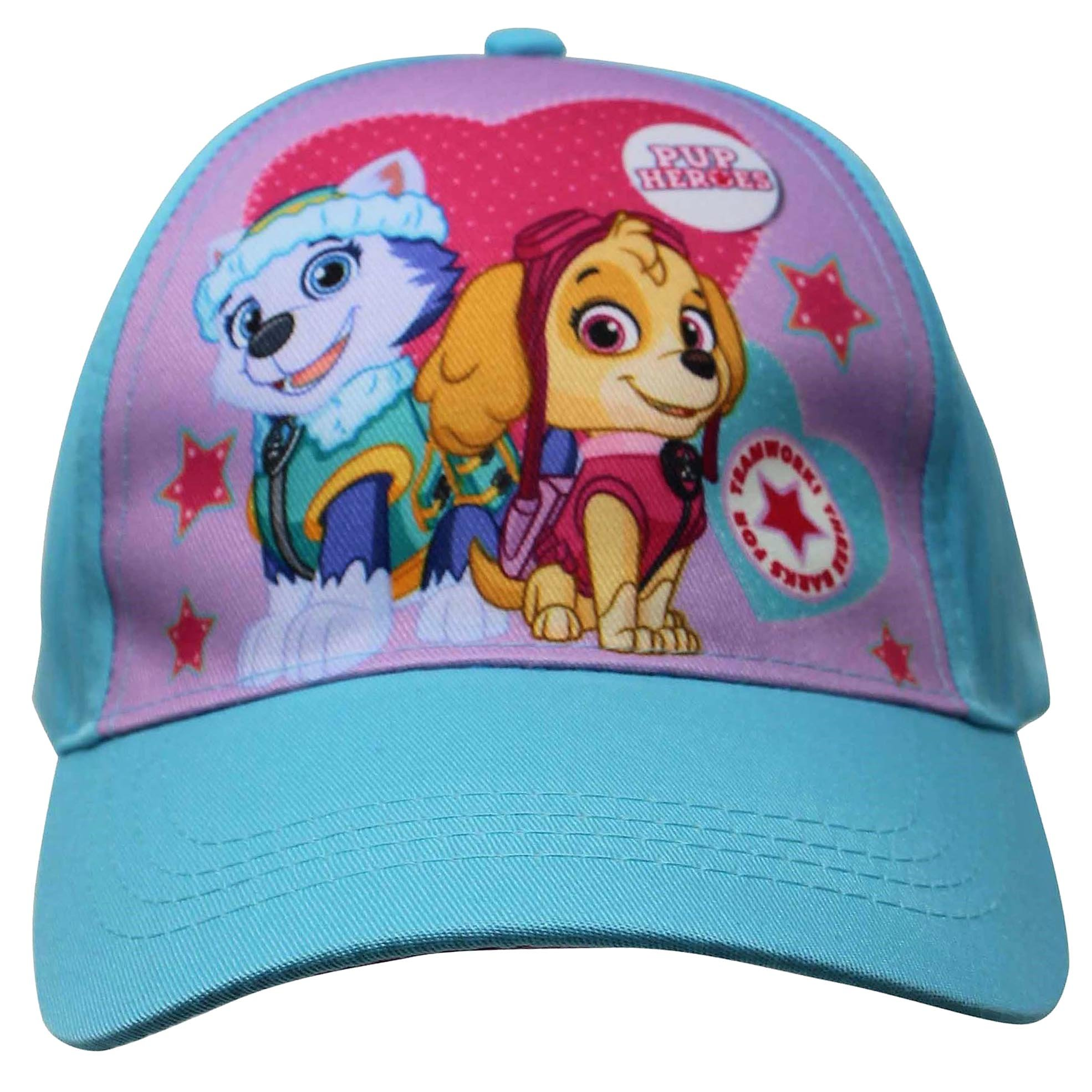 Accessory Supply Officially Licenesed Paw Patrol Pup Heroes Hat With Everest and Skye For Girls