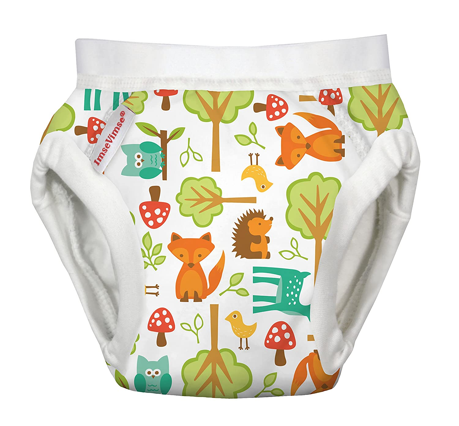 ImseVimse Training Pants Nappy Woodland Design