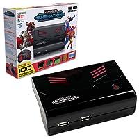 Retro-Bit RB-PP-6539 Plug and Play- Consola de Juegos Retro, edición estándar, color rojo/negro - Standard Edition
