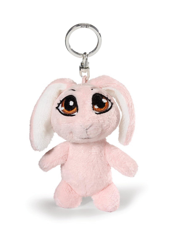 Nici 35648 - Portachiavi con Coniglio, 10 Cm, Colore: Rosa