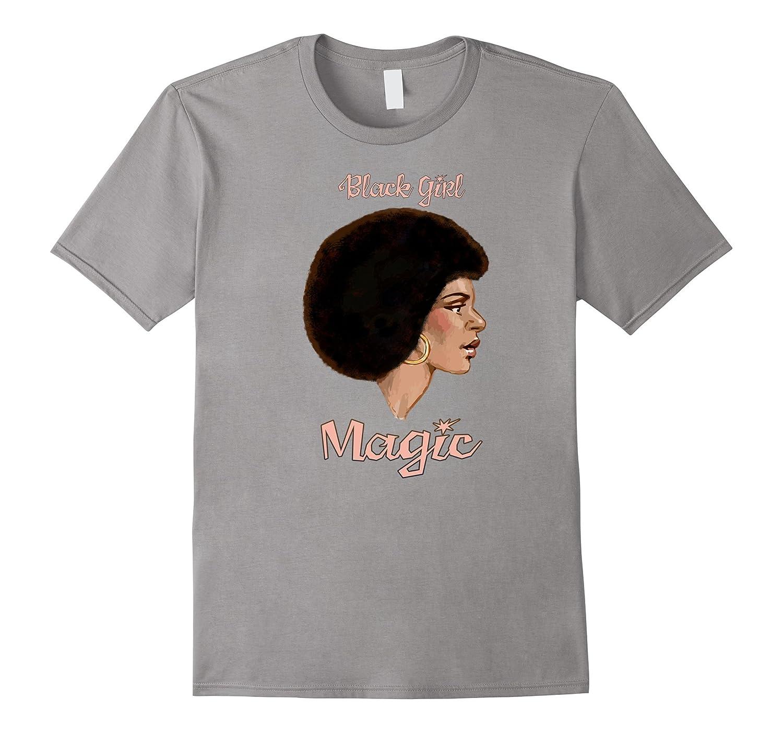 Black Girl Magic natural hair elegant t-shirt