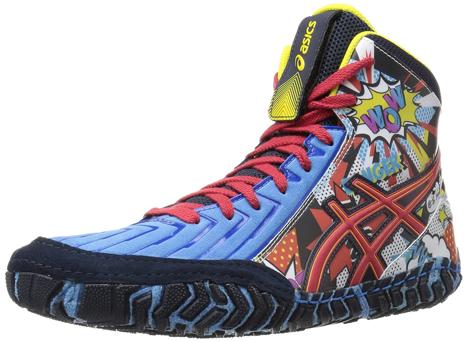 Amazon.com | ASICS Men's Aggressor 3 L.E. Comic-Hero Wrestling Shoe |  Wrestling