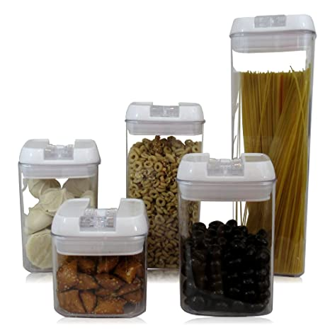 Amazoncom Airtight Food Storage Container Set Airtight Lid 5 Piece