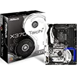 ASRock X370 TAICHI Socket AM4/AMD X370/DDR4/Quad CrossFireX & SLI/SATA3&USB3.1/M.2/Wi-Fi/A&GbE/ATX Motherboard