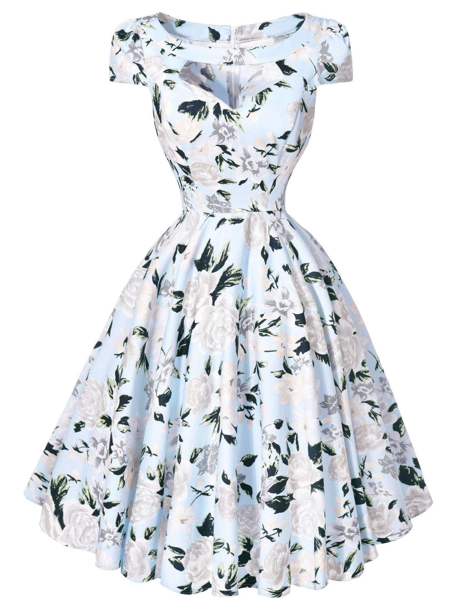50\'s Style Dress: Amazon.co.uk