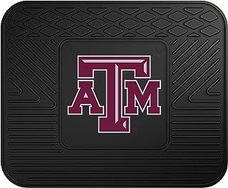 "product image for FANMATS NCAA Texas A&M University Aggies Vinyl Utility Mat Black, 14""x17"""