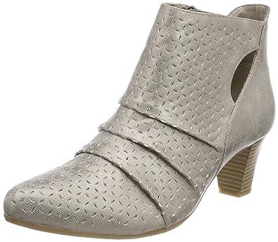 GERRY WEBER Shoes Damen Lena 12 Stiefeletten, Silber (Silber), 36 EU