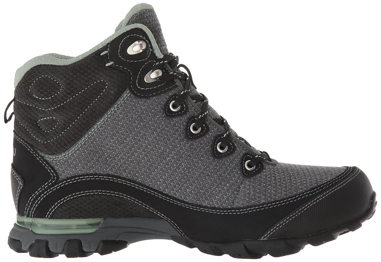 Ahnu Women's W Sugarpine II Waterproof Hiking Boot B0789SQ2MH 07.5 M US|Black/Green Bay