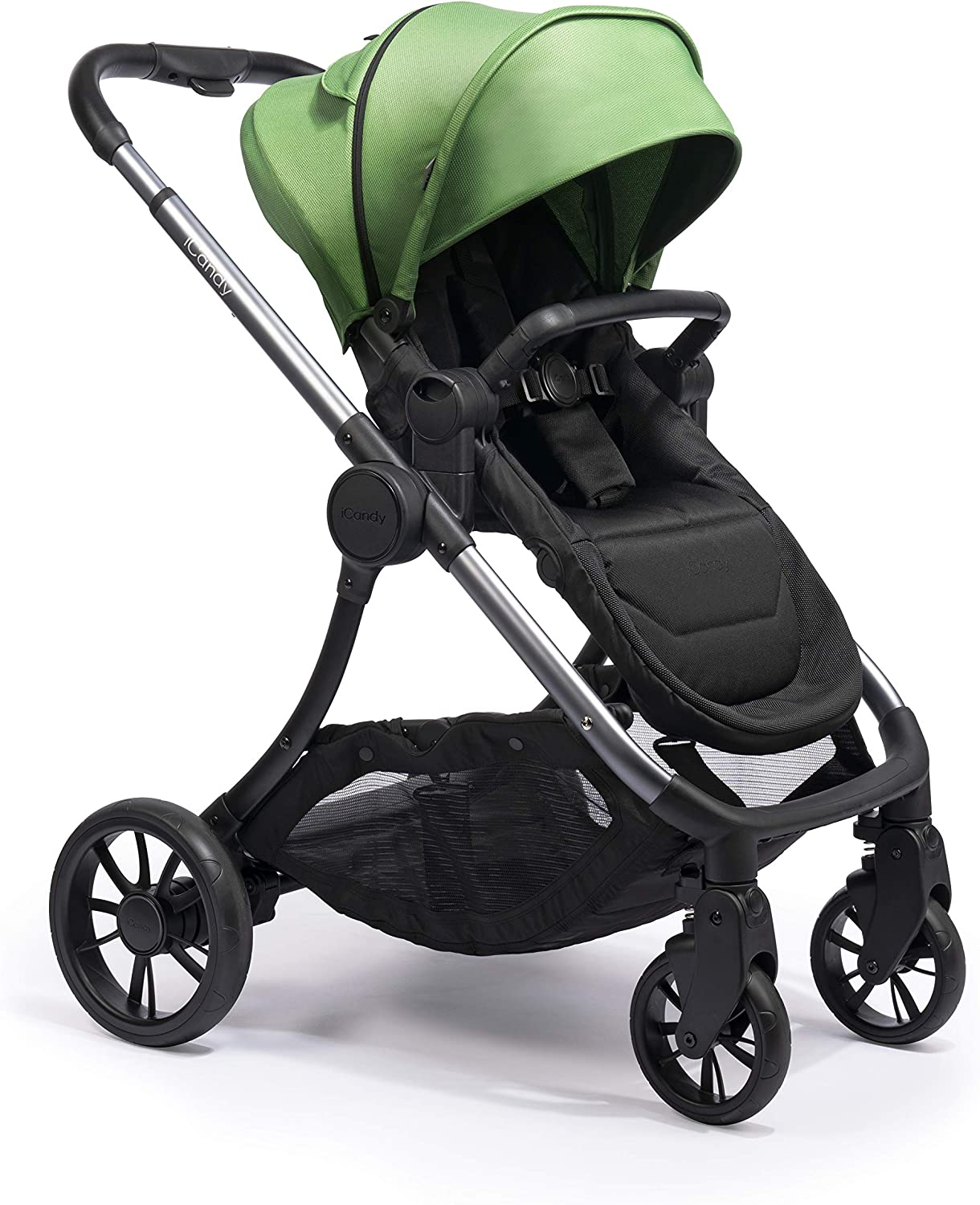 iCandy Lime Moonrock Pushchair and Carrycot Bundle Lime