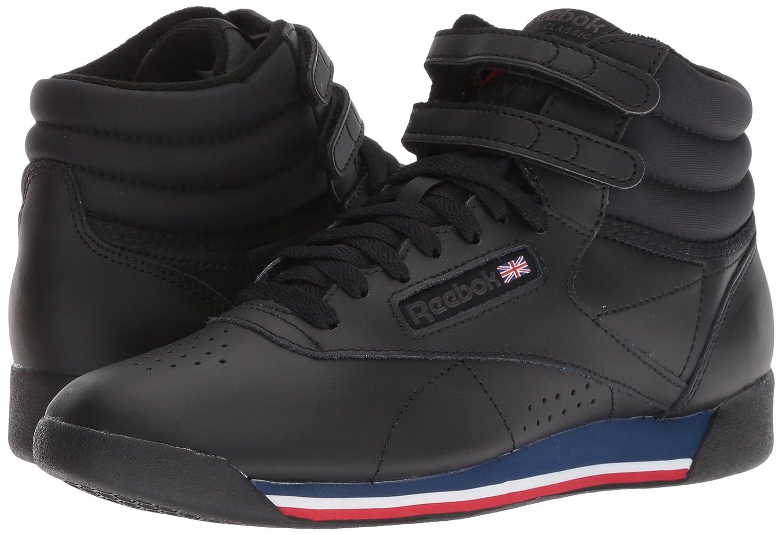 Reebok Women's B077ZHSSSJ Freestyle Hi Walking Shoe B077ZHSSSJ Women's 8.5 B(M) US|Retro-black/White/Bunker 7646f6