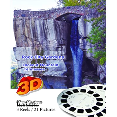 Rock City Gardens, Lookout Mountain, Tennessee - Classic ViewMaster - 3 Reels on Card - New: Toys & Games