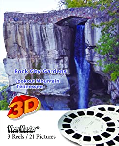 Rock City Gardens, Lookout Mountain, Tennessee - Classic ViewMaster - 3 Reels on Card - New