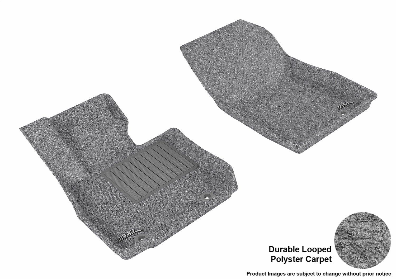 3D MAXpider Mazda CX-3 2016-2016 Classic Carpet Gray Front Row L1MZ05112201