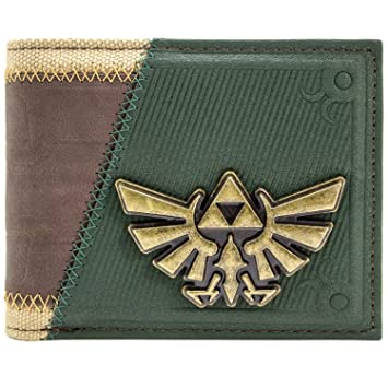 Cartera de Legend of Zelda Enlace Twilight Princess Juego para arriba marrón: Amazon.es: Equipaje